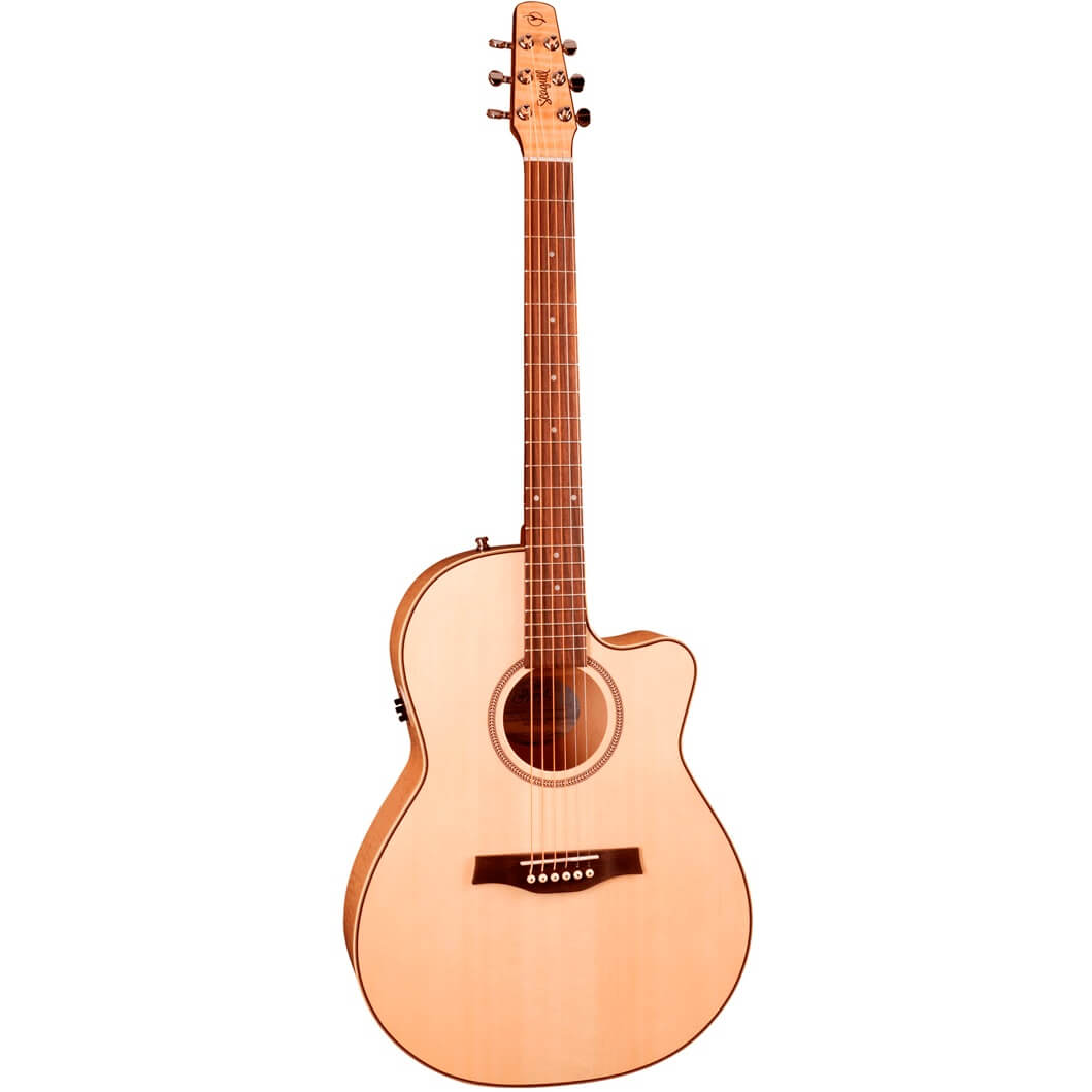 Image of   Seagull PerformerCWFolkFlameMapleQIT western-guitar natur