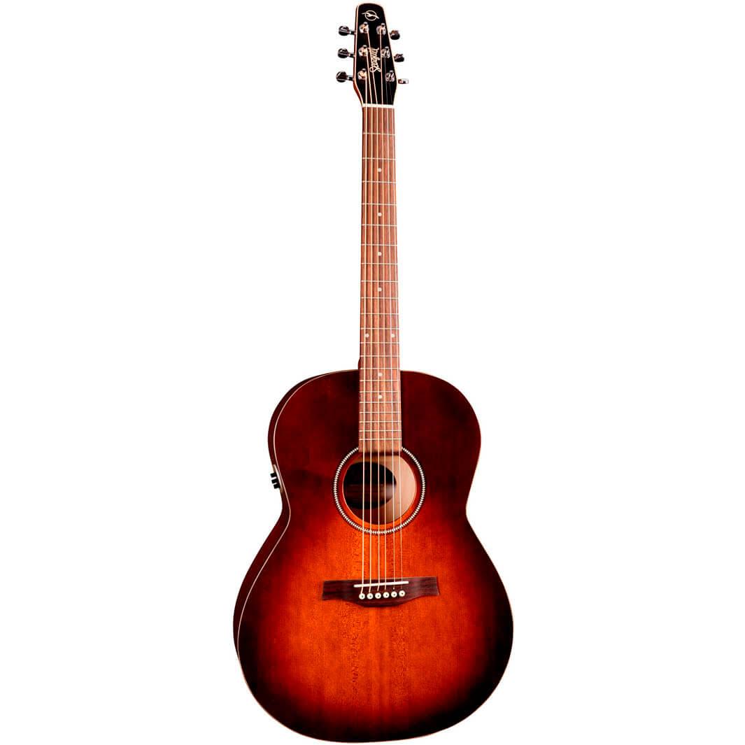 Image of   Seagull EntourageFolkQIT western-guitar burntumber