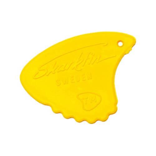 Image of   Sharkfin GP 105 Relief, Medium, Yellow plektre (10 stk)
