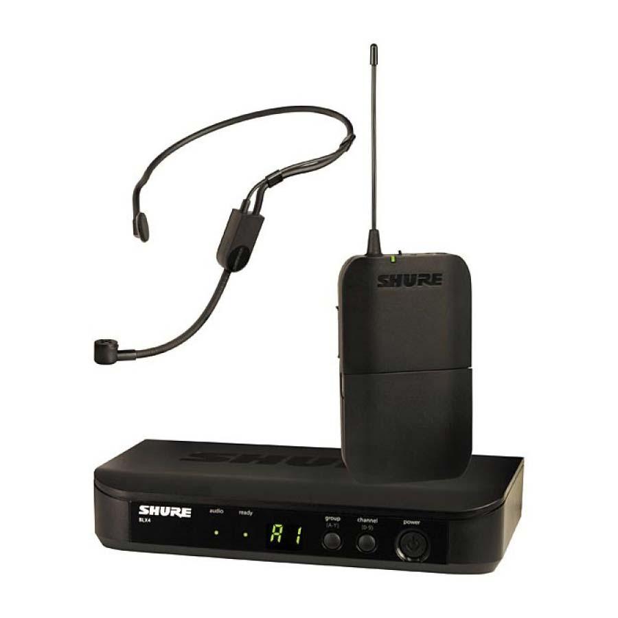 Trådløs headset-mikrofon
