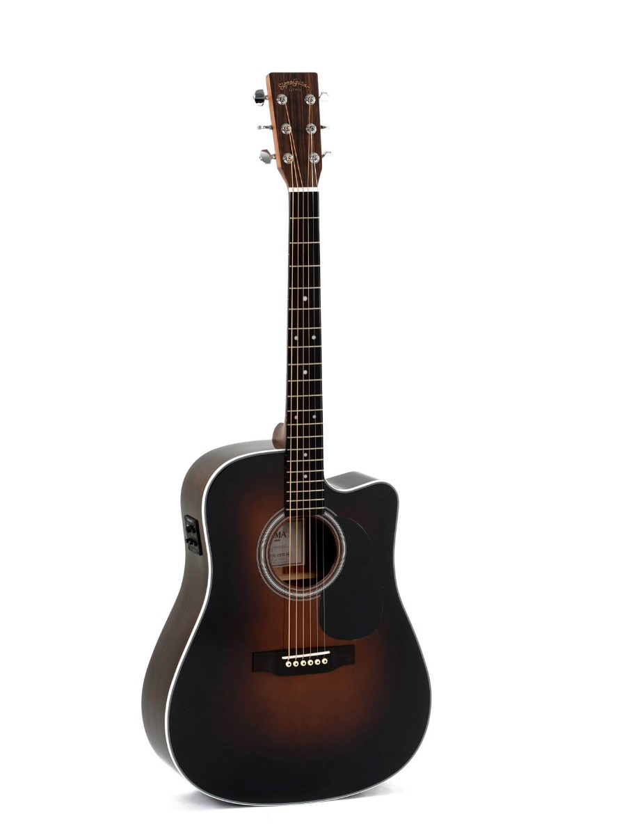 Sigma DTC-1STE-SB+ western-guitar sunburst