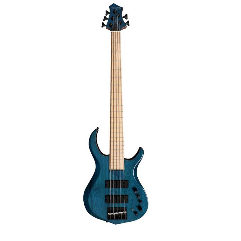 Sire Marcus Miller M2-5 TBL el-bas, 5-strenget transparent blå