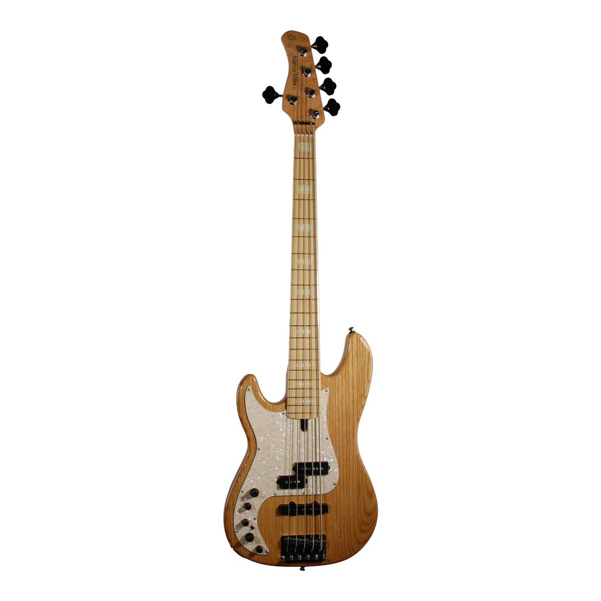 Sire Marcus Miller P7 SWAMP ASH-5 LH NT el-bas, 5-strenget, venstrehåndet natur