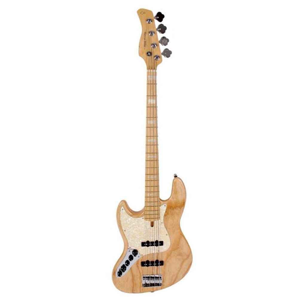 Sire Marcus Miller V7 SWAMP ASH-4 LH NT venstrehånds-el-bas natur