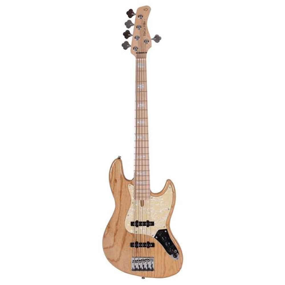 Sire Marcus Miller V7 SWAMP ASH-5  NT el-bas, 5-strenget natur
