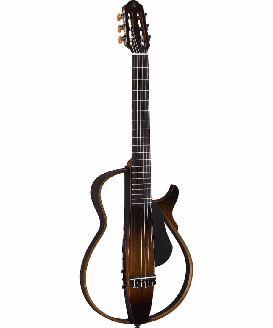 Spansk guitar med pickup