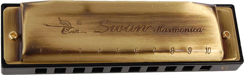 Image of   Swan SW1020-8G mundharmonika