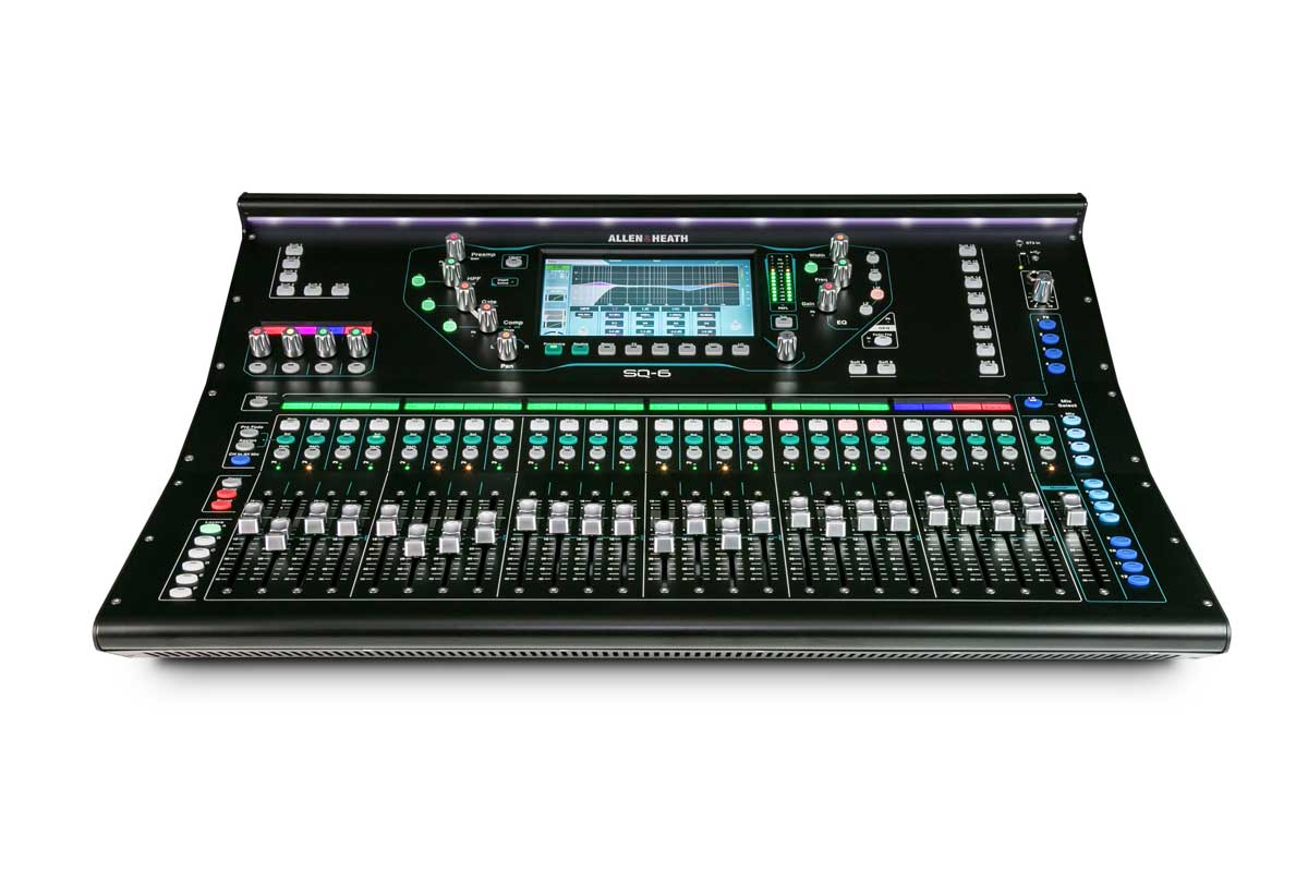Allen & Heath SQ-6 digital mixer