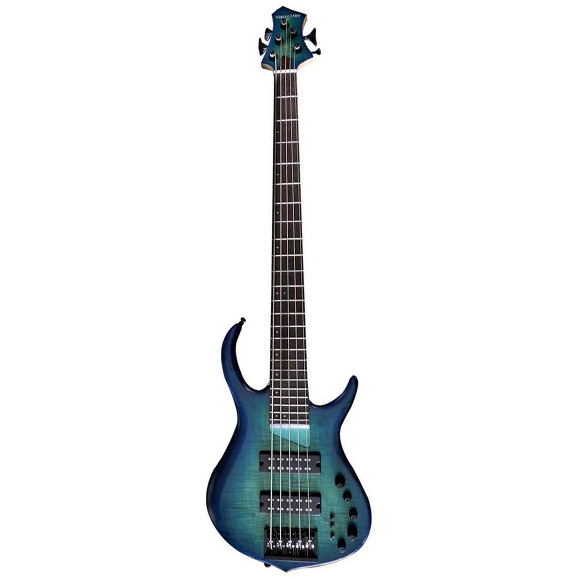 Sire Marcus Miller M7 ALDER-5 TBL el-bas, 5-strenget Satin Transparent Blue
