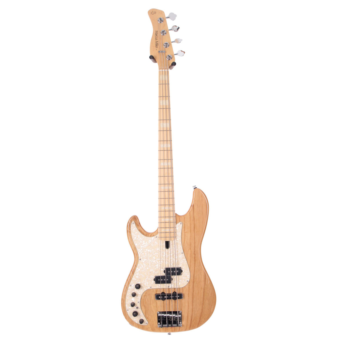Sire Marcus Miller P7 SWAMP ASH-4 LH NT el-bas, venstrehåndet natur