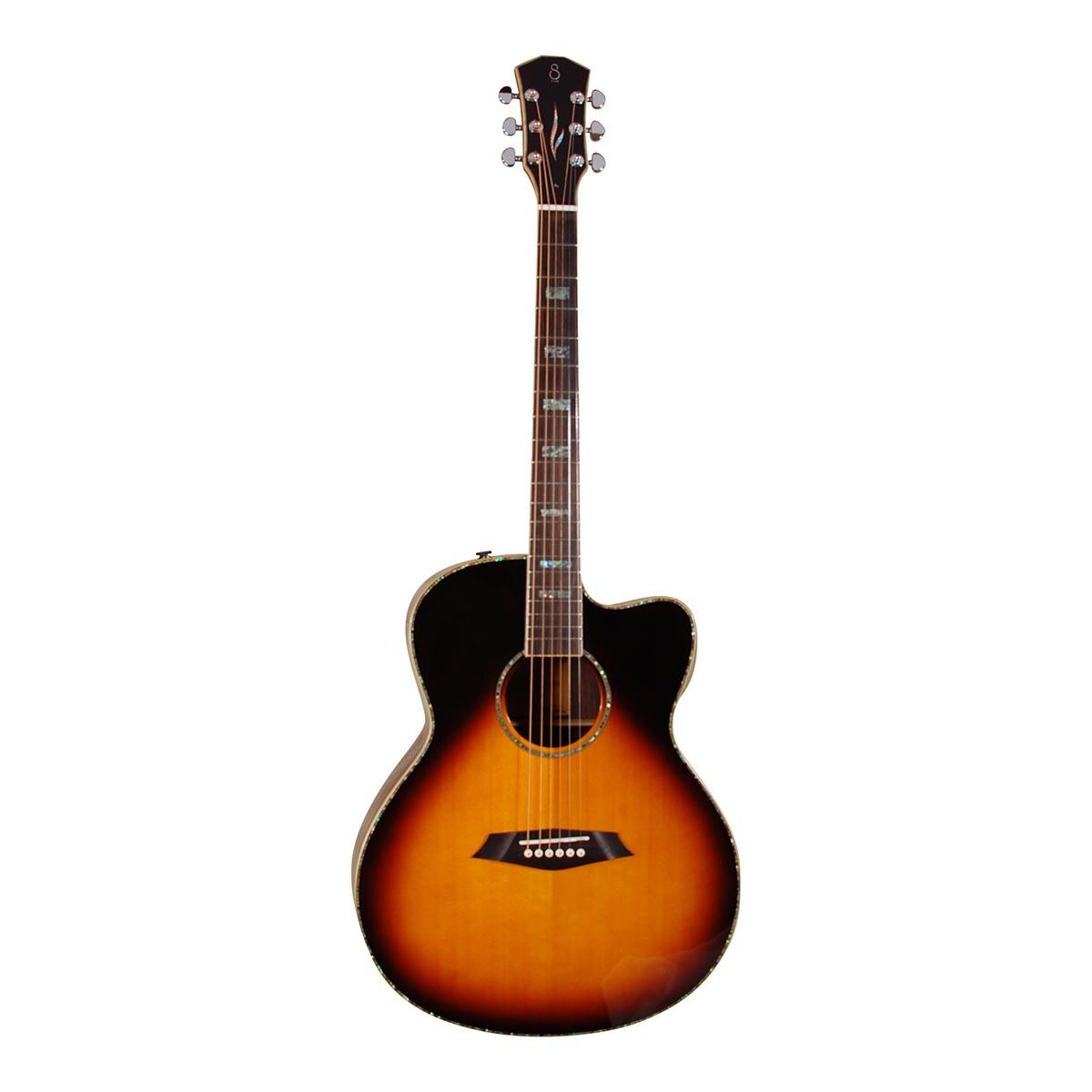 Image of   Sire R7-GS-VS western-guitar vintage sunburst