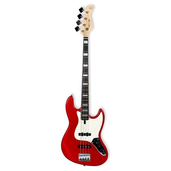 Sire Marcus Miller V7 ALDER-4 BMR el-bas Bright Metallic Red