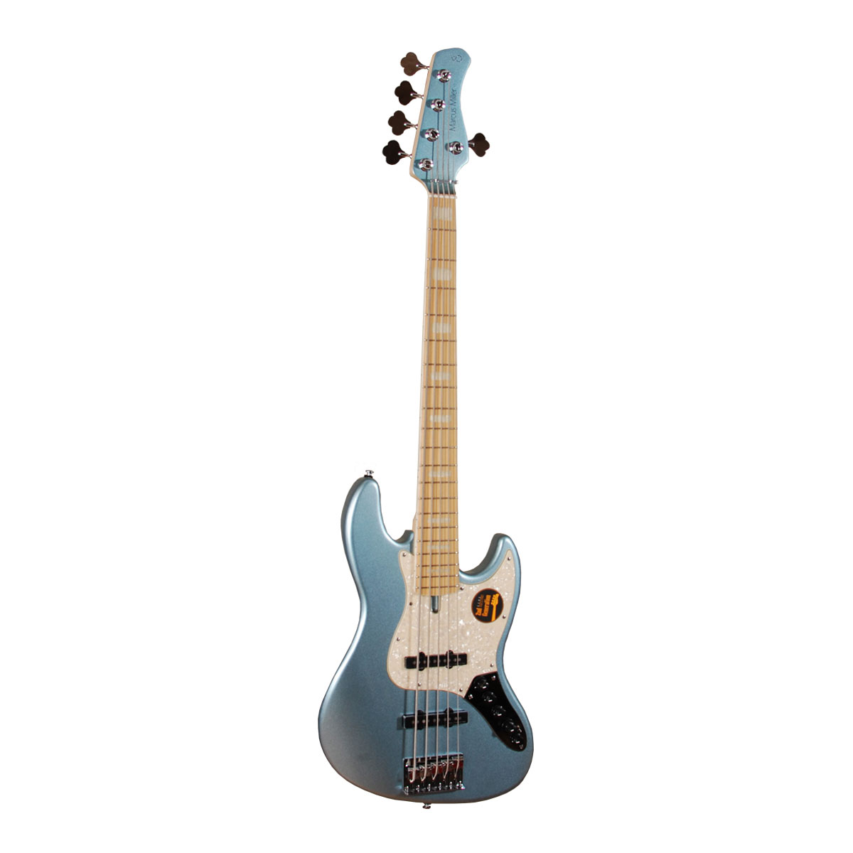 Image of   Sire Marcus Miller V7 SWAMP ASH-5 2nd Gen LPB el-bas, 5-strenget lake placied blue