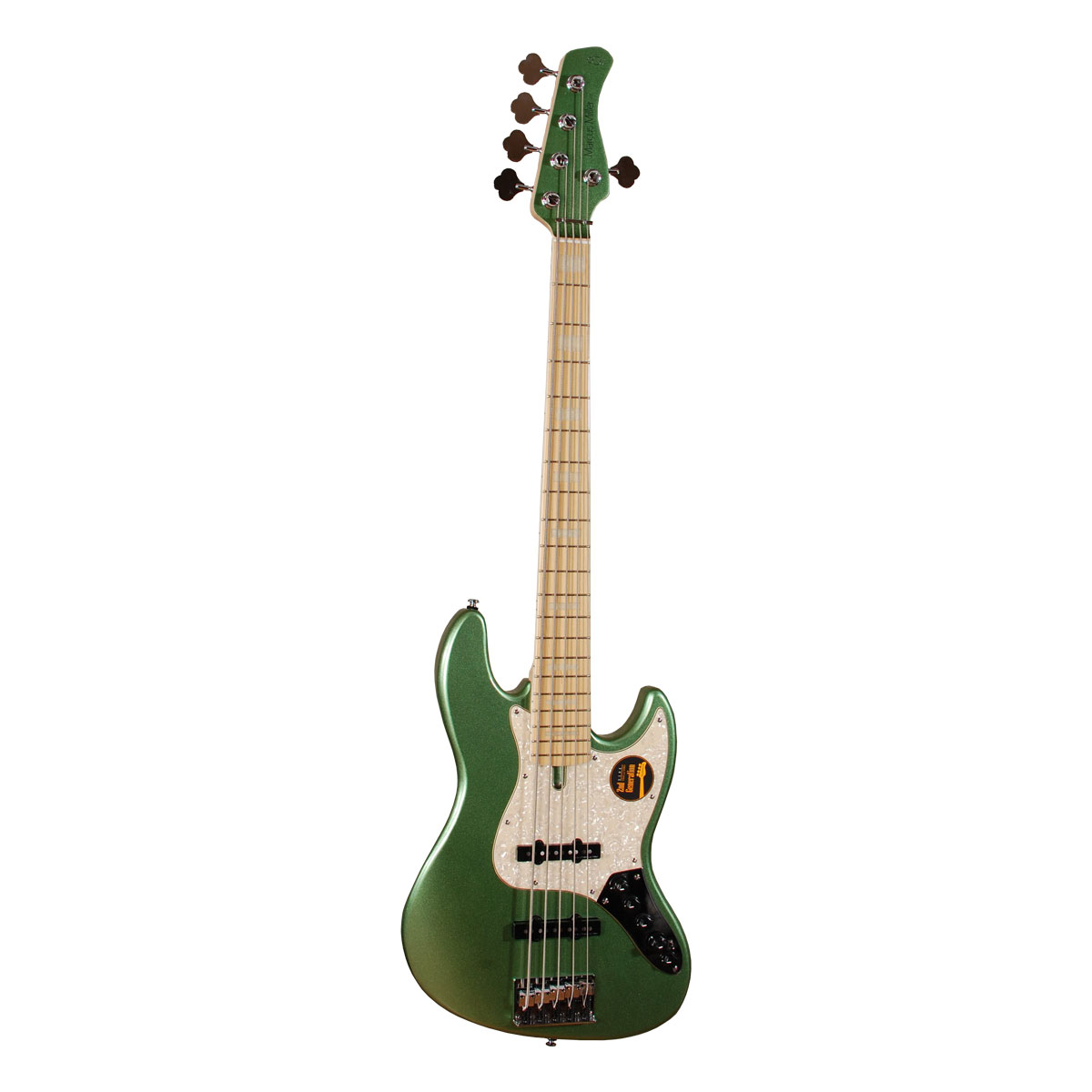 Image of   Sire Marcus Miller V7 SWAMP ASH-5 2nd Gen SG el-bas, 5-strenget sherwood green