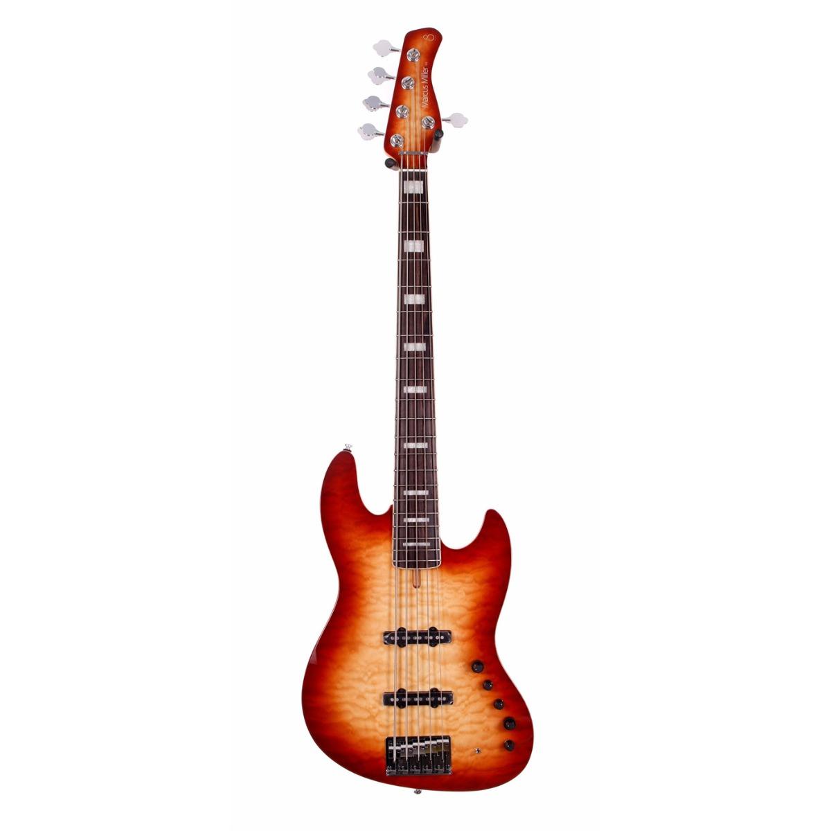Sire Marcus Miller V9 ALDER-5 BRS el-bas Satin Brown Sunburst