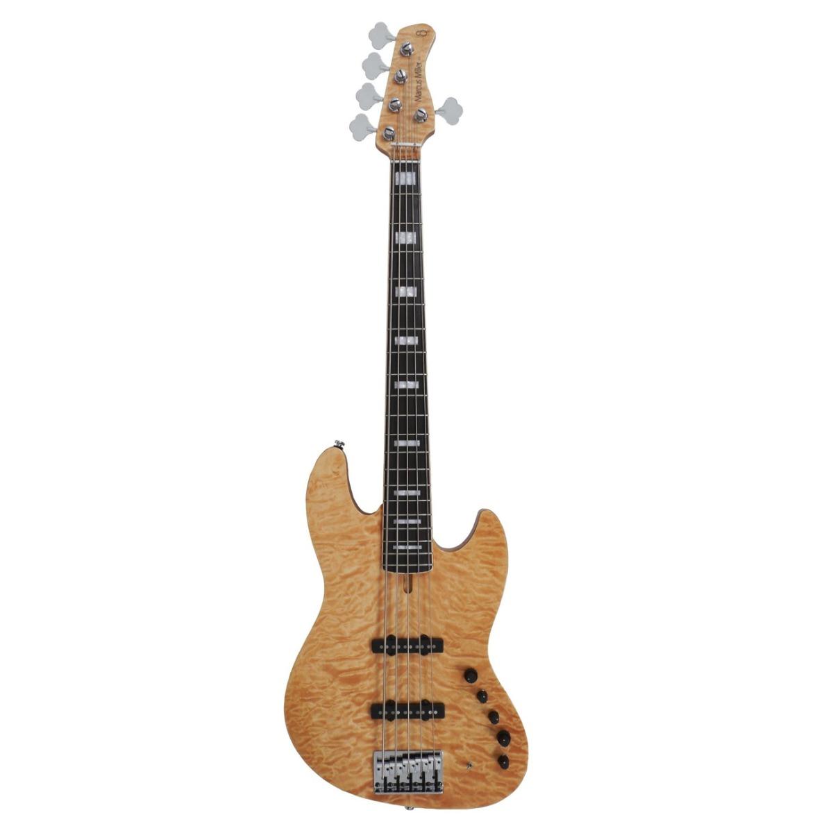 Sire Marcus Miller V9 SWAMP ASH-5 NT el-bas, 5-strenget natur