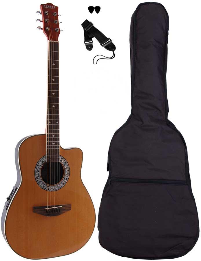 Street RND-4-NA western-guitar natur