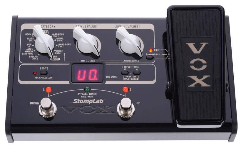 Vox StomplabIIG(2G) guitar-multieffekt-pedal