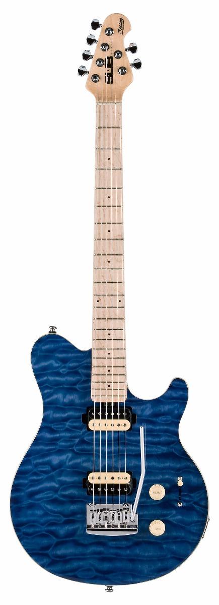 SterlingbyMusicMan S.U.B.AX3-TBL el-guitar transblue