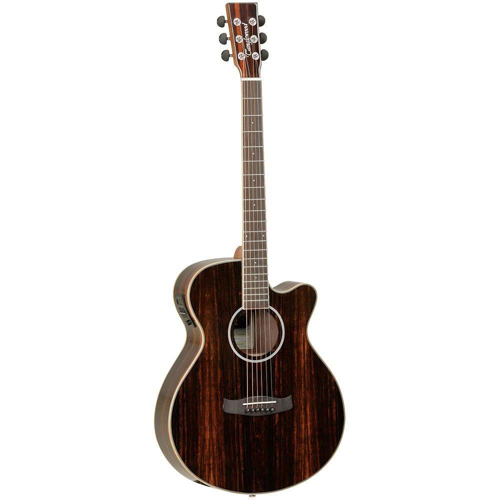 Tanglewood DBT DLX SFCE EB Discovery western-guitar