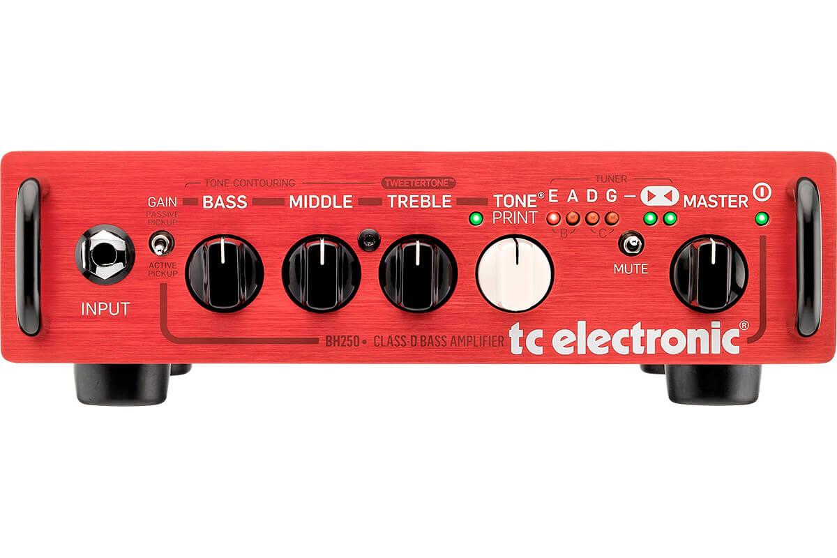 Image of   TCElectronic BH250 basforstærker-top