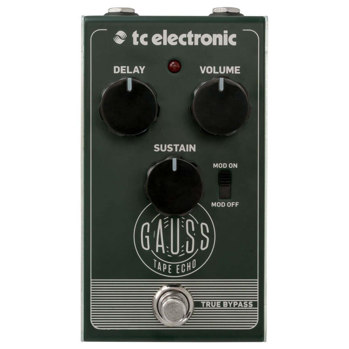 Billede af TC Electronic Gauss Tape Echo guitar-effekt-pedal