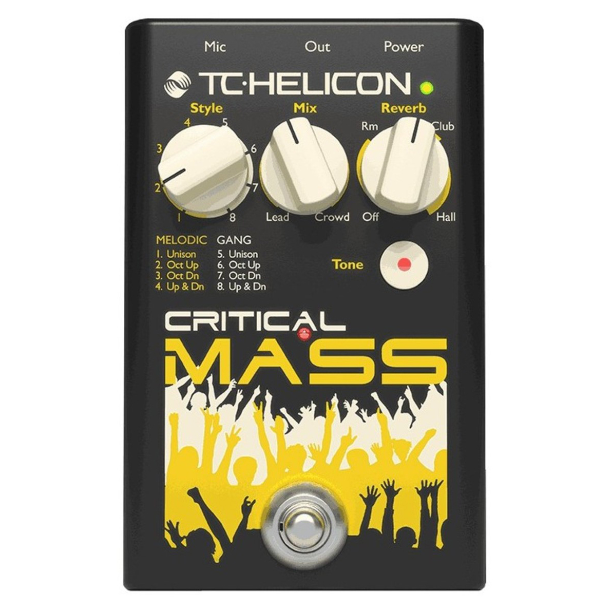 TC Helicon Critical Mass vokal-processor