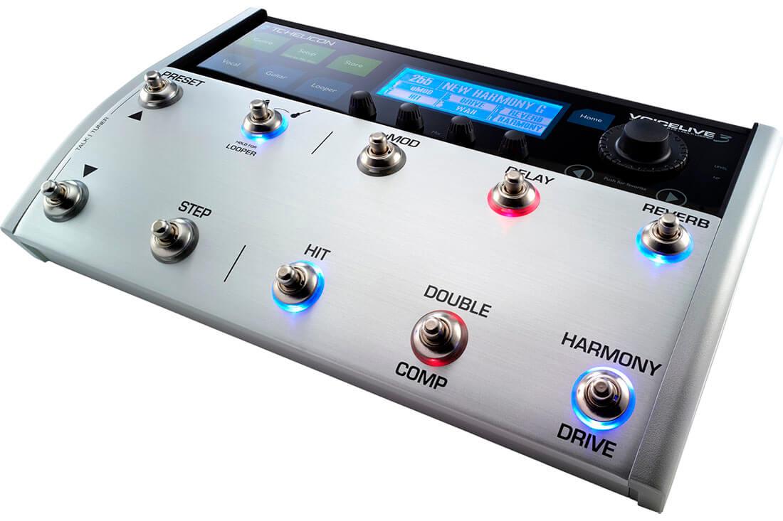 TCHelicon VoiceLive3 vokal-processor-pedal