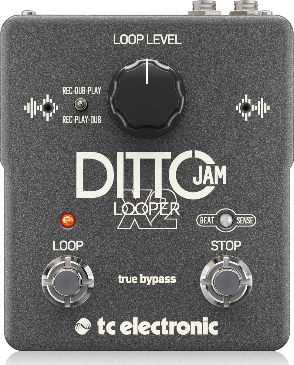 TC Electronic Ditto Jam X2 Looper guitar-effekt-pedal