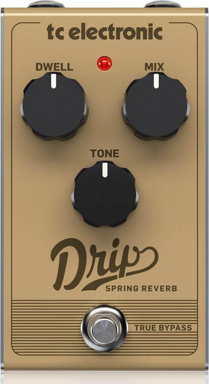 TC Electronic Drip Spring Reverb guitar-effekt-pedal