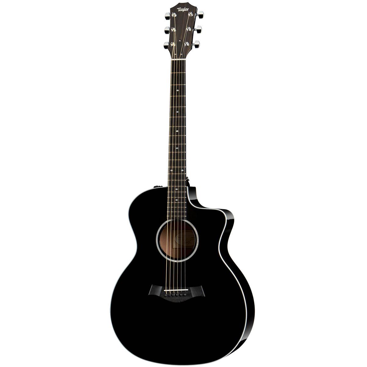 Taylor 214ce-BLK DLX western-guitar sort