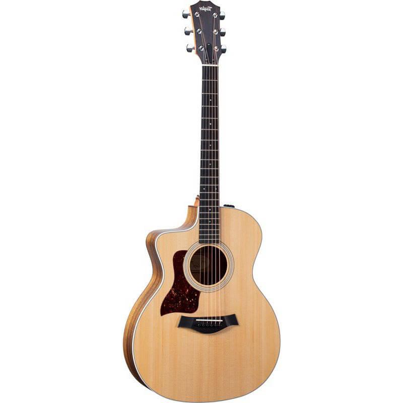 Taylor 214ce Koa Lefthand western-guitar, venstrehåndet