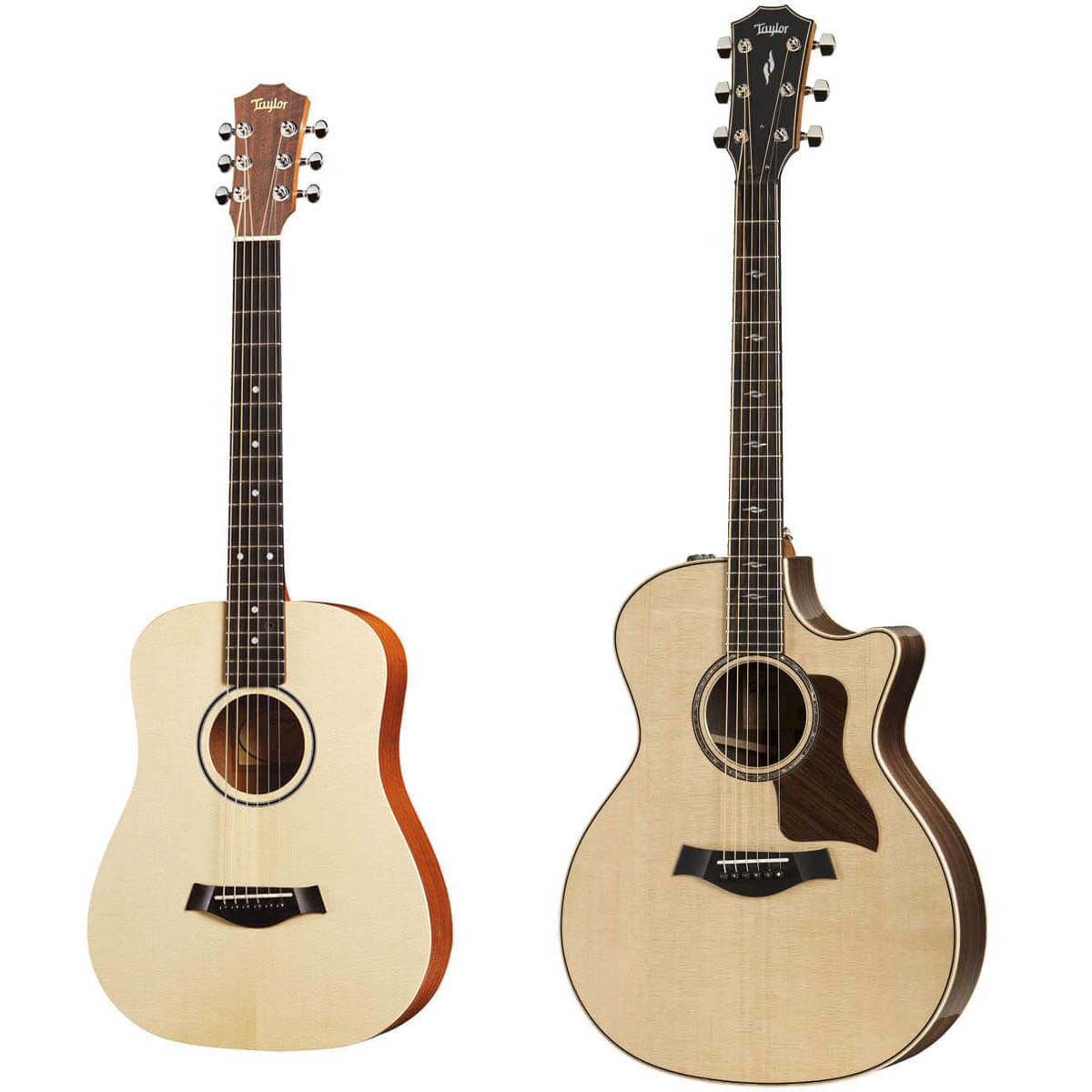 Taylor 814ce V-Class western-guitar + BT1 Baby Taylor