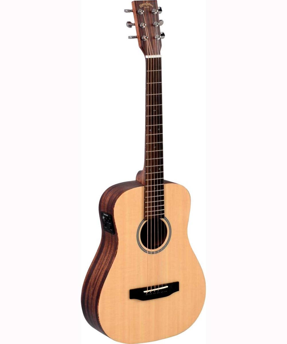 Image of   Sigma TM-12E western-guitar,rejse-model natur
