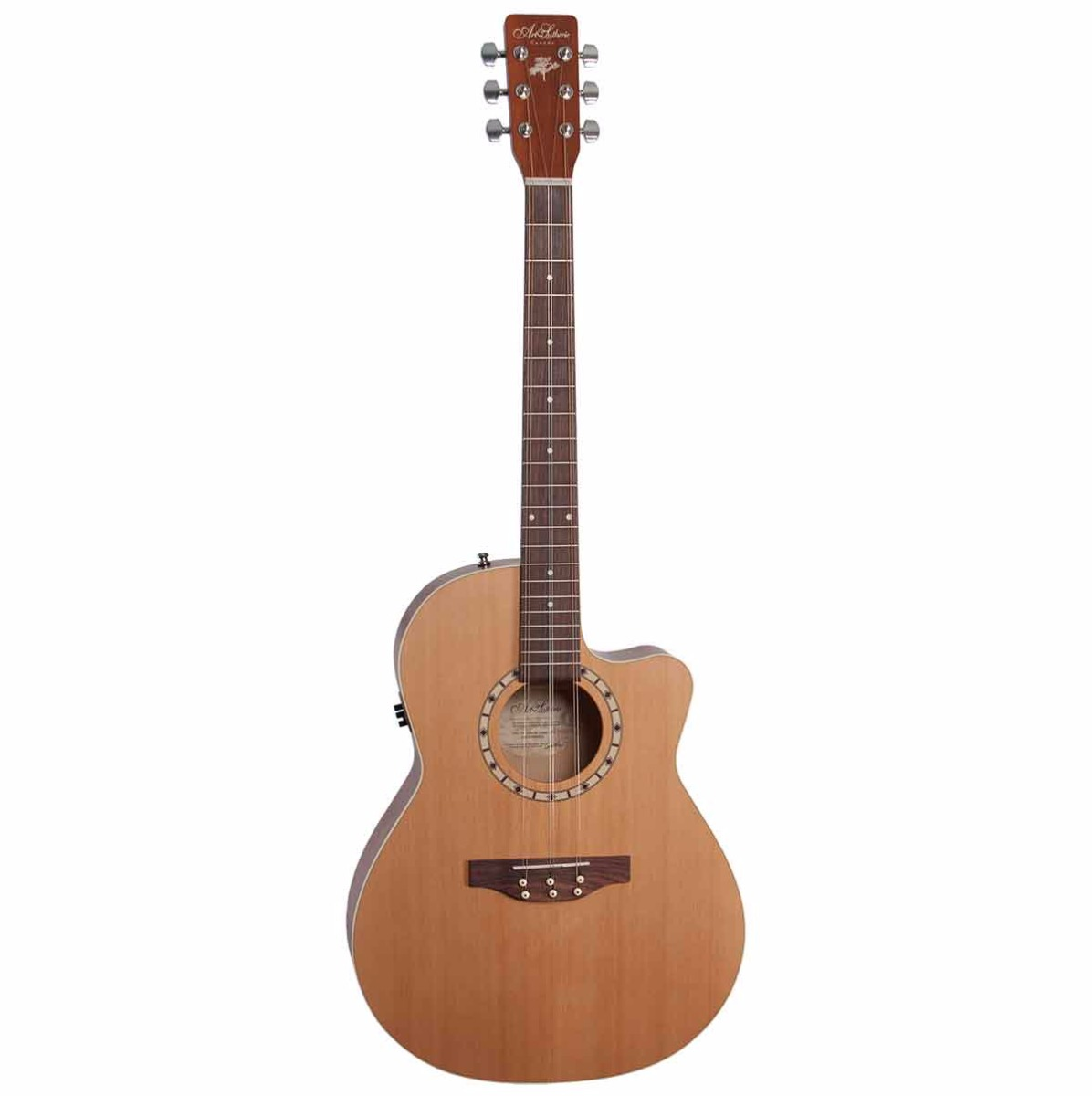 Image of   A&L Tres CW Natural Ceder QIT tres-guitar