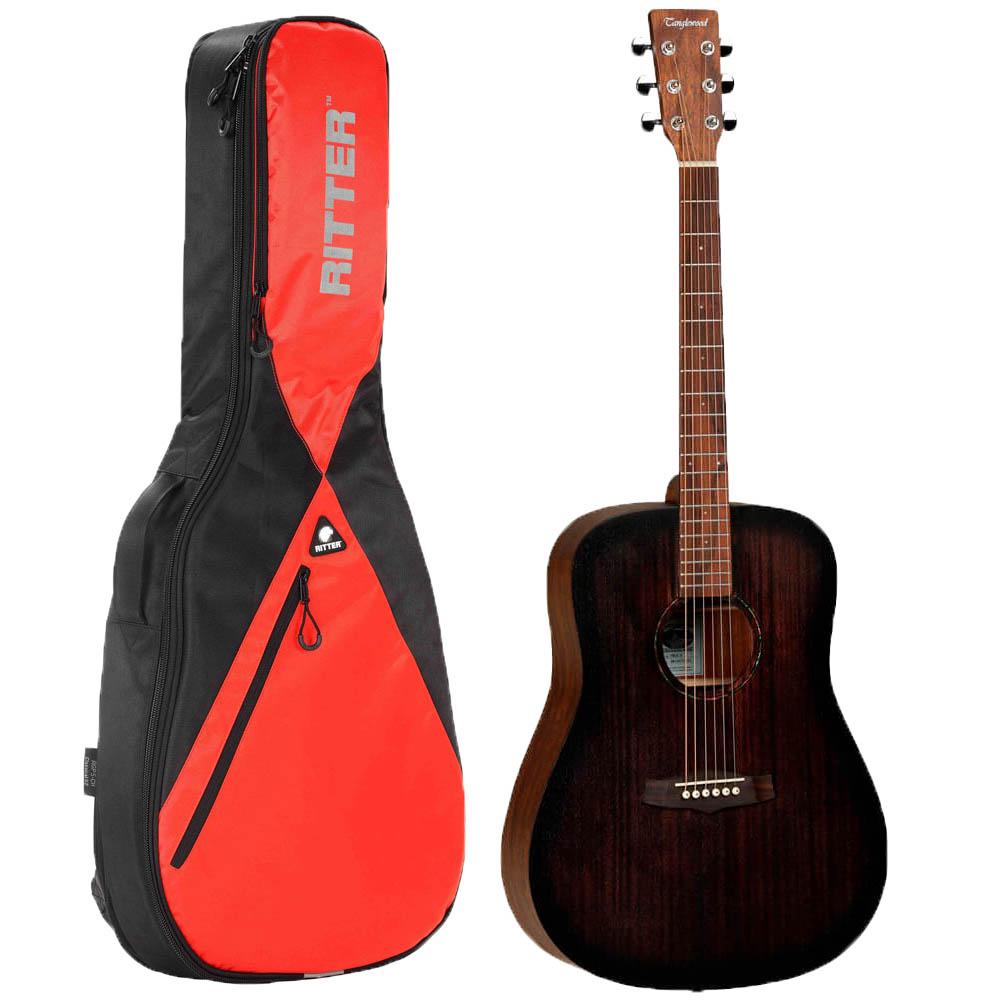 Tanglewood TWCR D E Crossroads western-guitar med taske