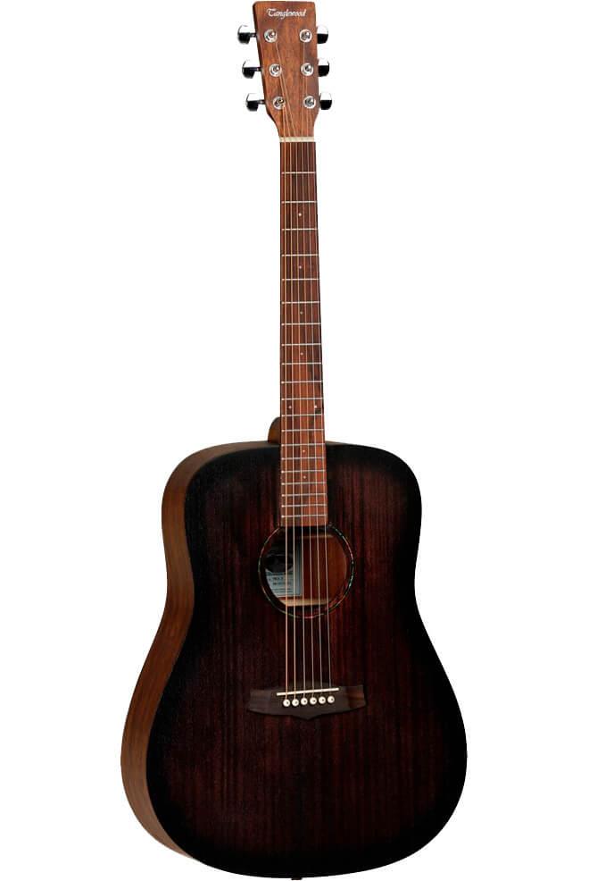 Tanglewood TWCRDCrossroads western-guitar darkbrown