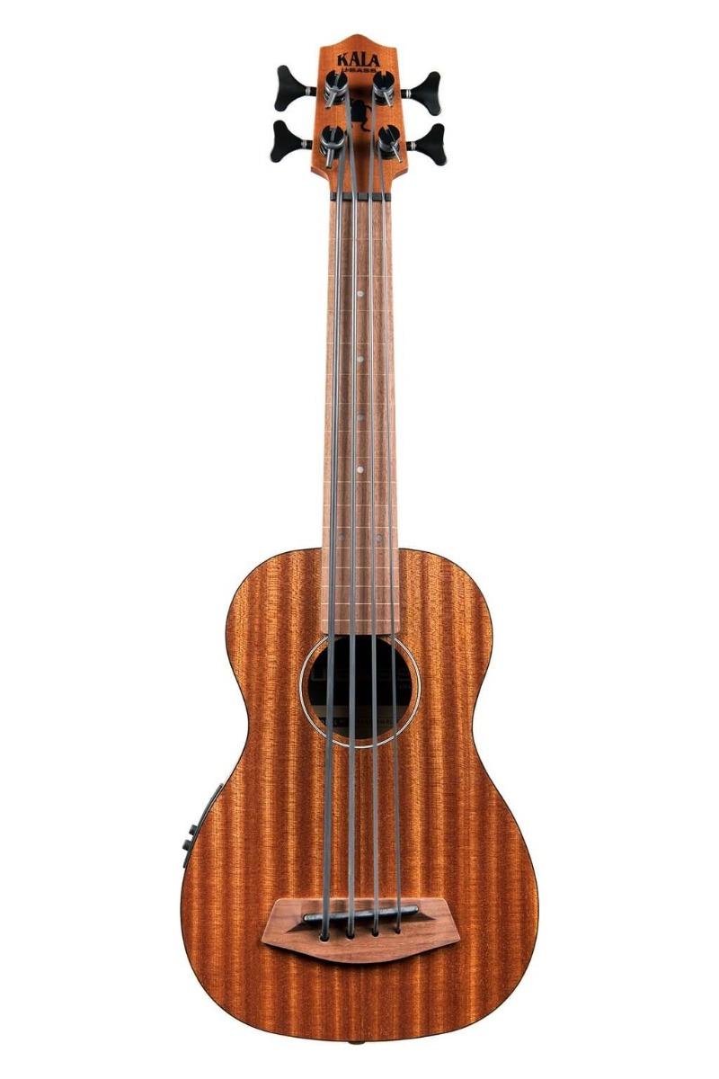Kala U-Bass Rumbler FL bas-ukulele, båndløs