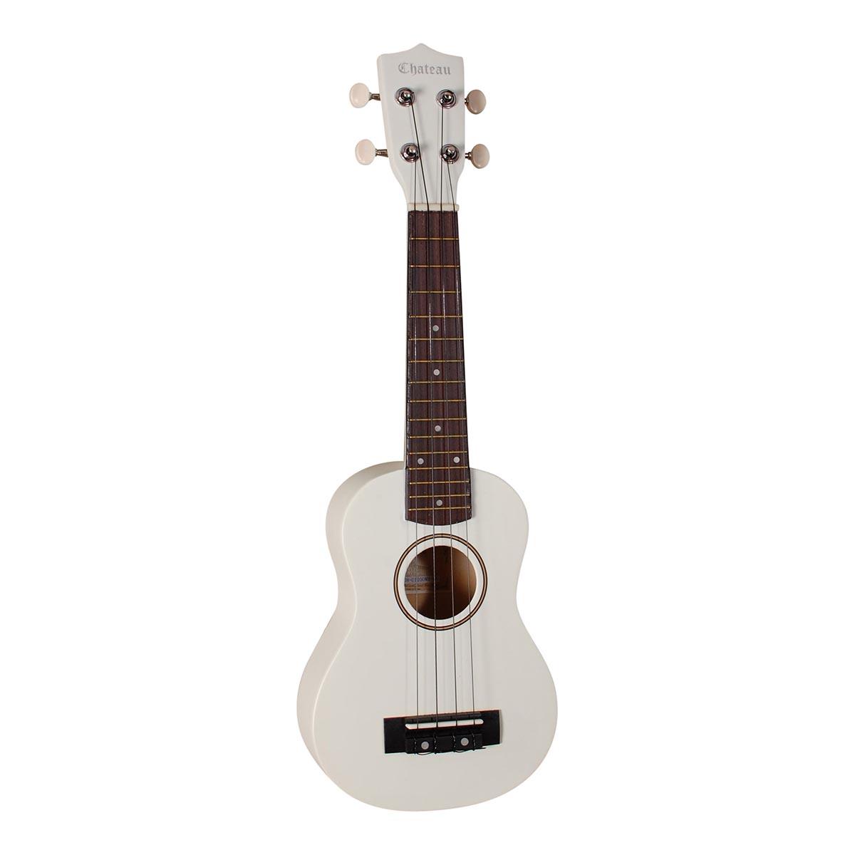 Image of   Chateau C08-U1100-WH ukulele hvid