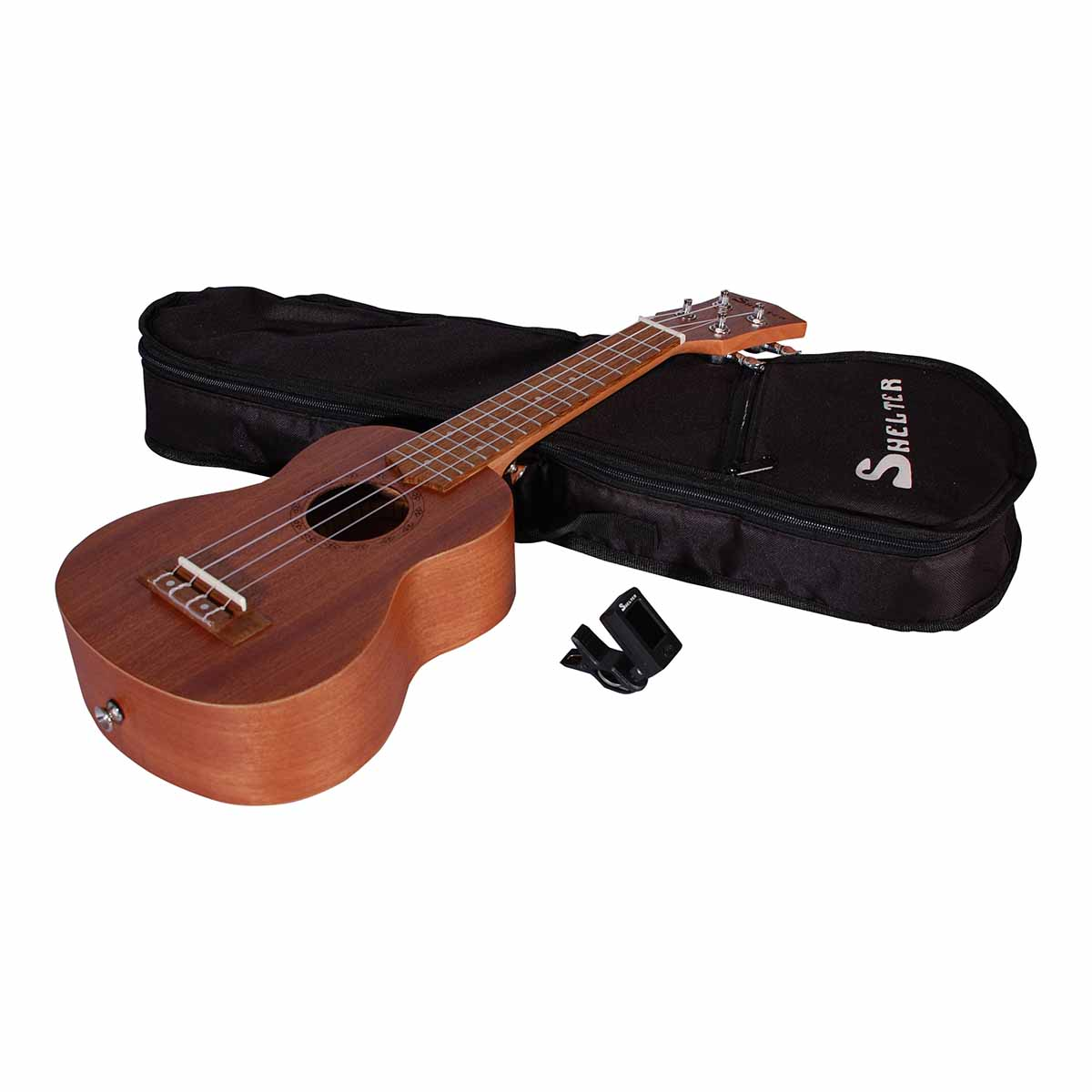 Shelter UK3S ukulele, pakkeløsning