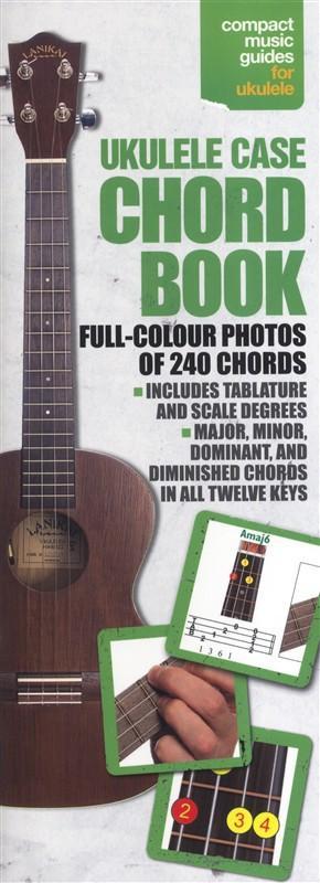 Brand mangler Ukulele Case Chord Book lærebog