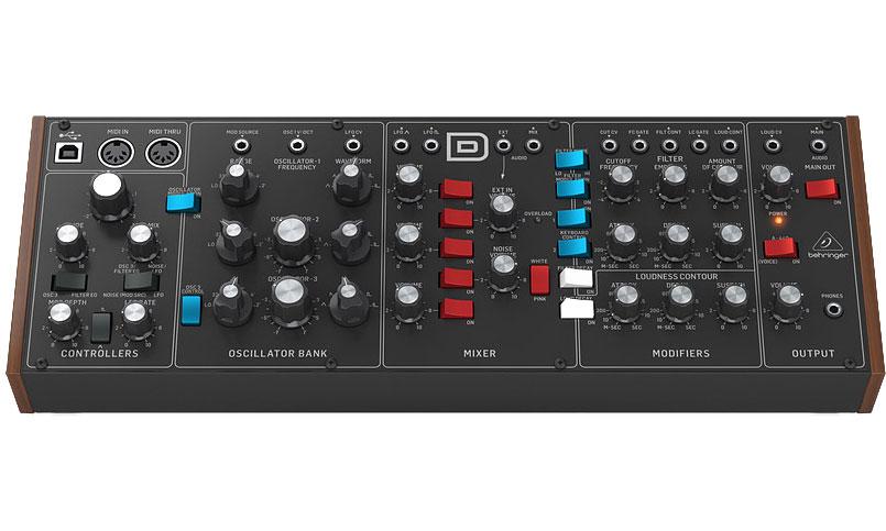 Billede af Behringer Model D analog synthesizer modul