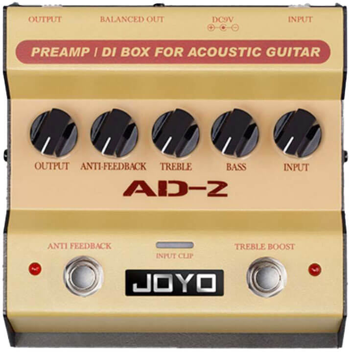 Joyo AD-2 preamp / DI box for akustisk guitar