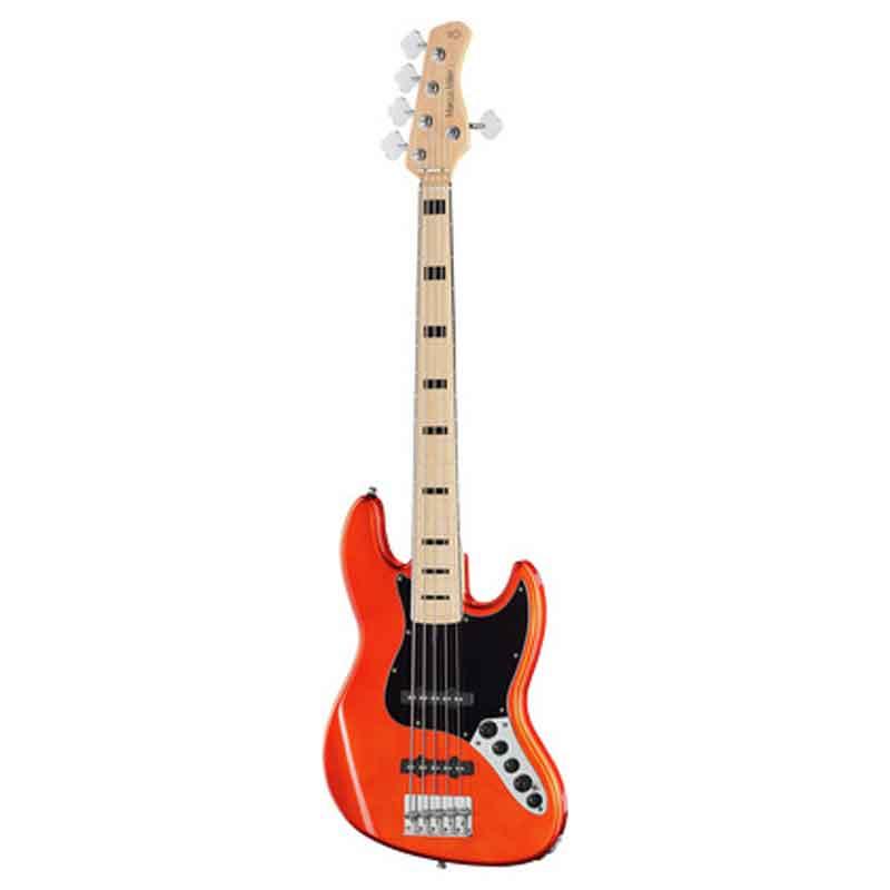 Sire Marcus Miller V7 VINTAGE ALDER-5 BMR el-bas, 5-strenget Bright Metallic Red