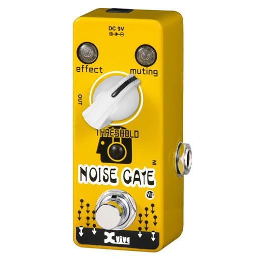 XVive V11 Noise Gate guitar-effekt-pedal
