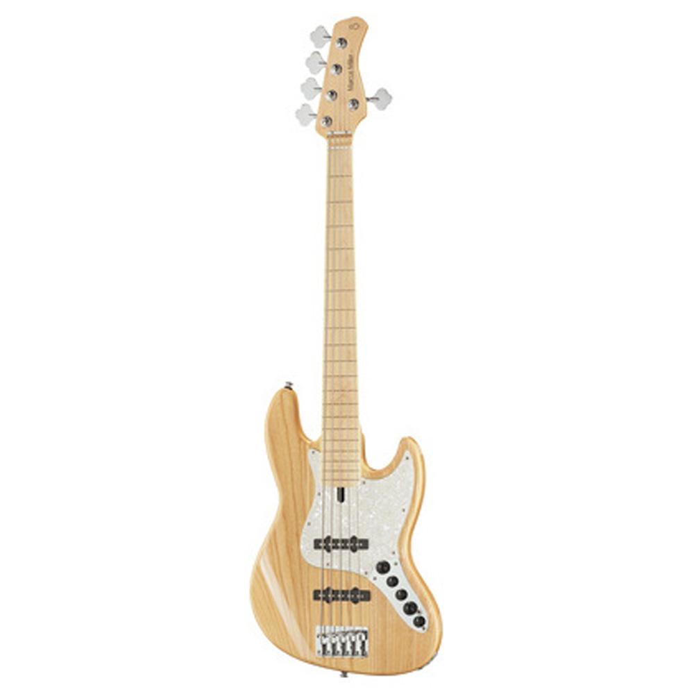 Sire Marcus Miller V7 SWAMP ASH-5 FL NT el-bas, 5-strenget, båndløs natur