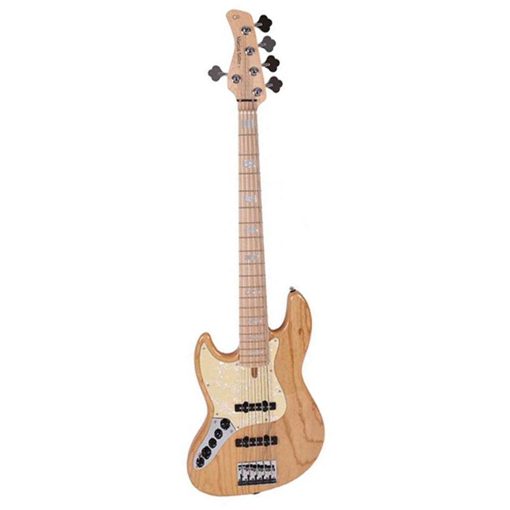 Sire Marcus Miller V7 SWAMP ASH-5 LH NT venstrehånds-el-bas,5-strenget natur