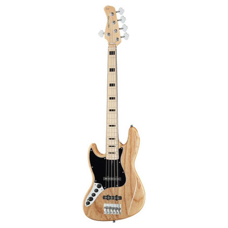 Sire Marcus Miller V7 VINTAGE SWAMP ASH-5 LH  NT venstrehånds-el-bas,5-strenget natur