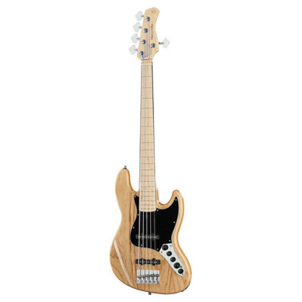 Sire Marcus Miller V7 VINTAGE SWAMP ASH-5 FL NT el-bas,5-strenget,båndløs natur