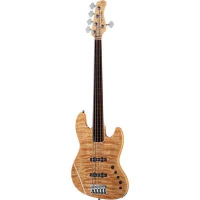 Sire Marcus Miller V9 SWAMP ASH-5 FL NT el-bas, 5-strenget, båndløs natur